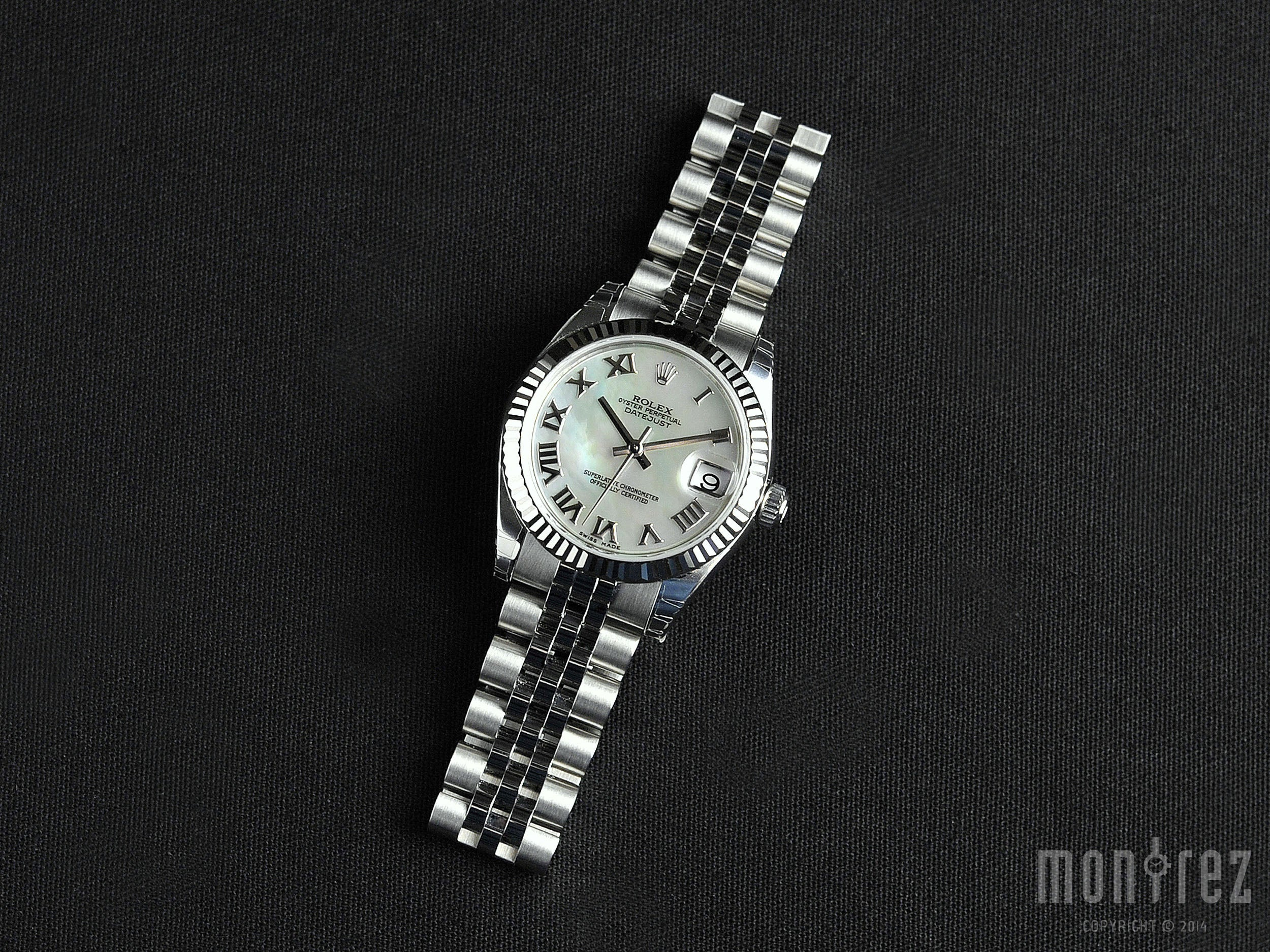 Rolex Datejust 31mm 178274 White Mother of Pearl Dial (Jubilee Bracelet)