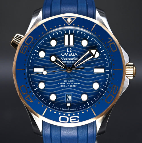 [Brand New Watch] Omega Seamaster Diver 300m Co-Axial Master Chronometer 42mm 210.22.42.20.03.001