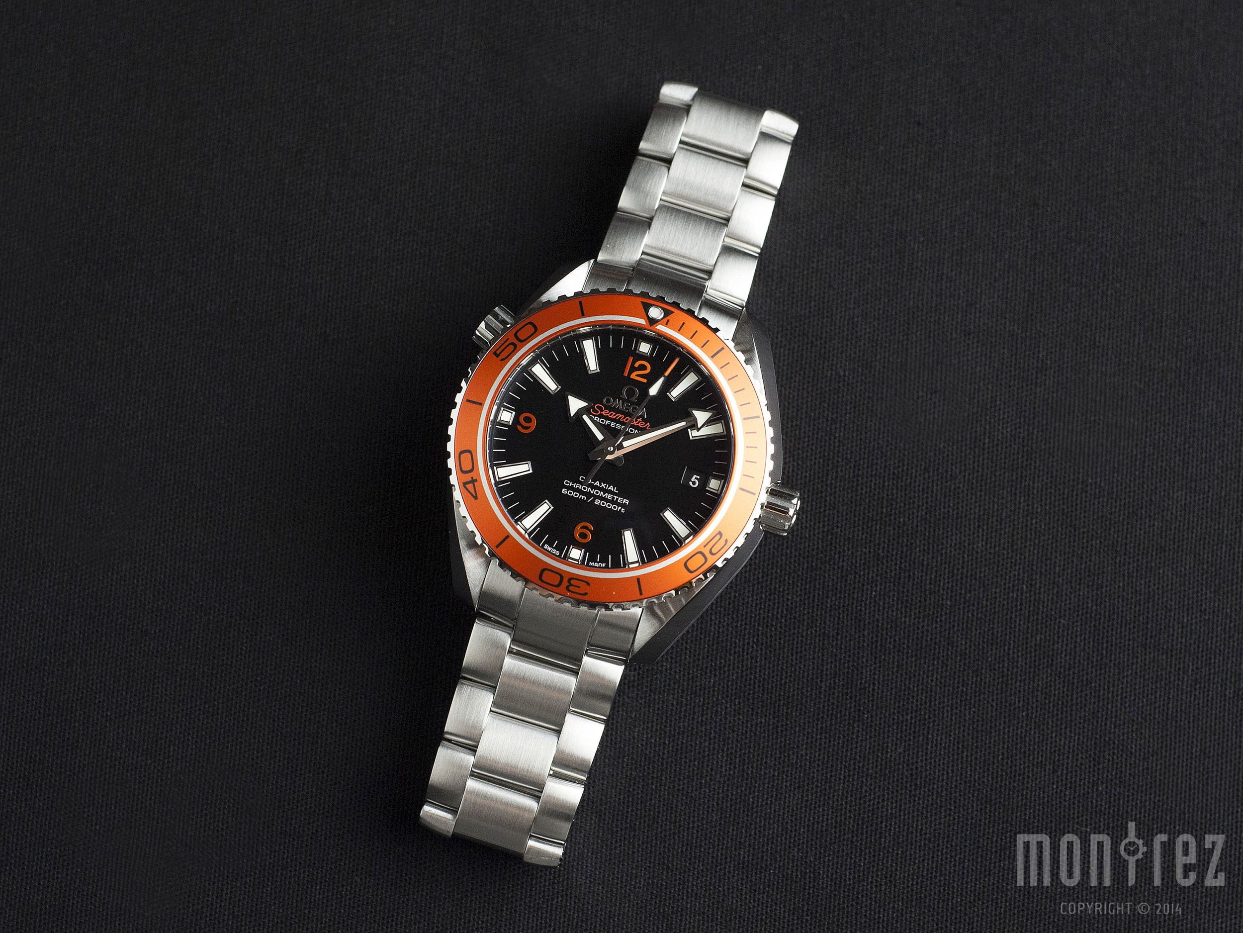 Omega Seamaster Planet Ocean 600m Co-Axial 42mm 232.30.42.21.01.002 (Out of Production)