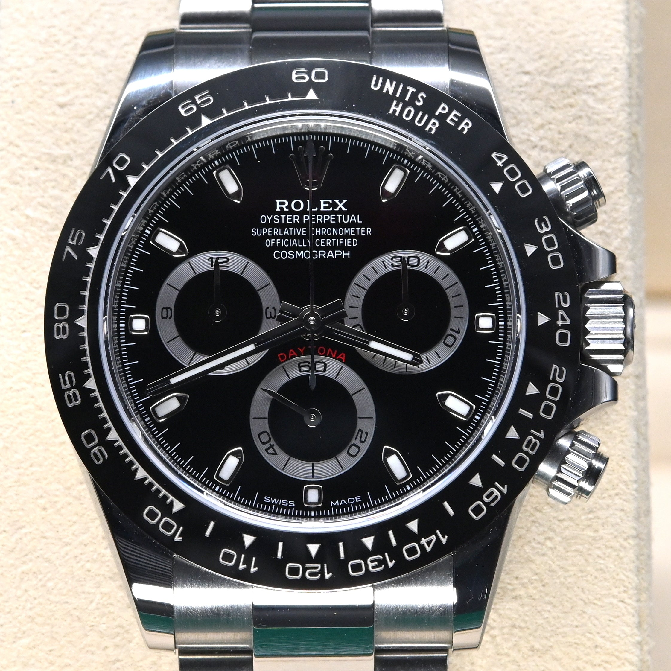 [Pre-Owned Watch] Rolex Cosmograph Daytona 40mm 116500LN Black Dial (888)