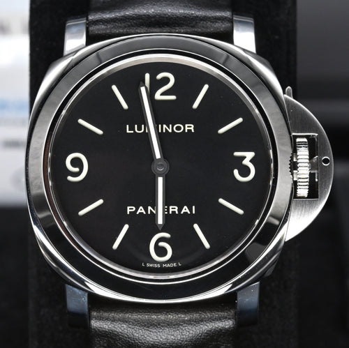 [Pre-Owned Watch] Panerai Luminor Base Acciaio 44mm PAM00112 (Out of Production)