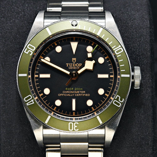 [Brand New / Collectable] Tudor Heritage Black Bay 41mm 79230G (Steel Bracelet) (Harrods Special Edition)