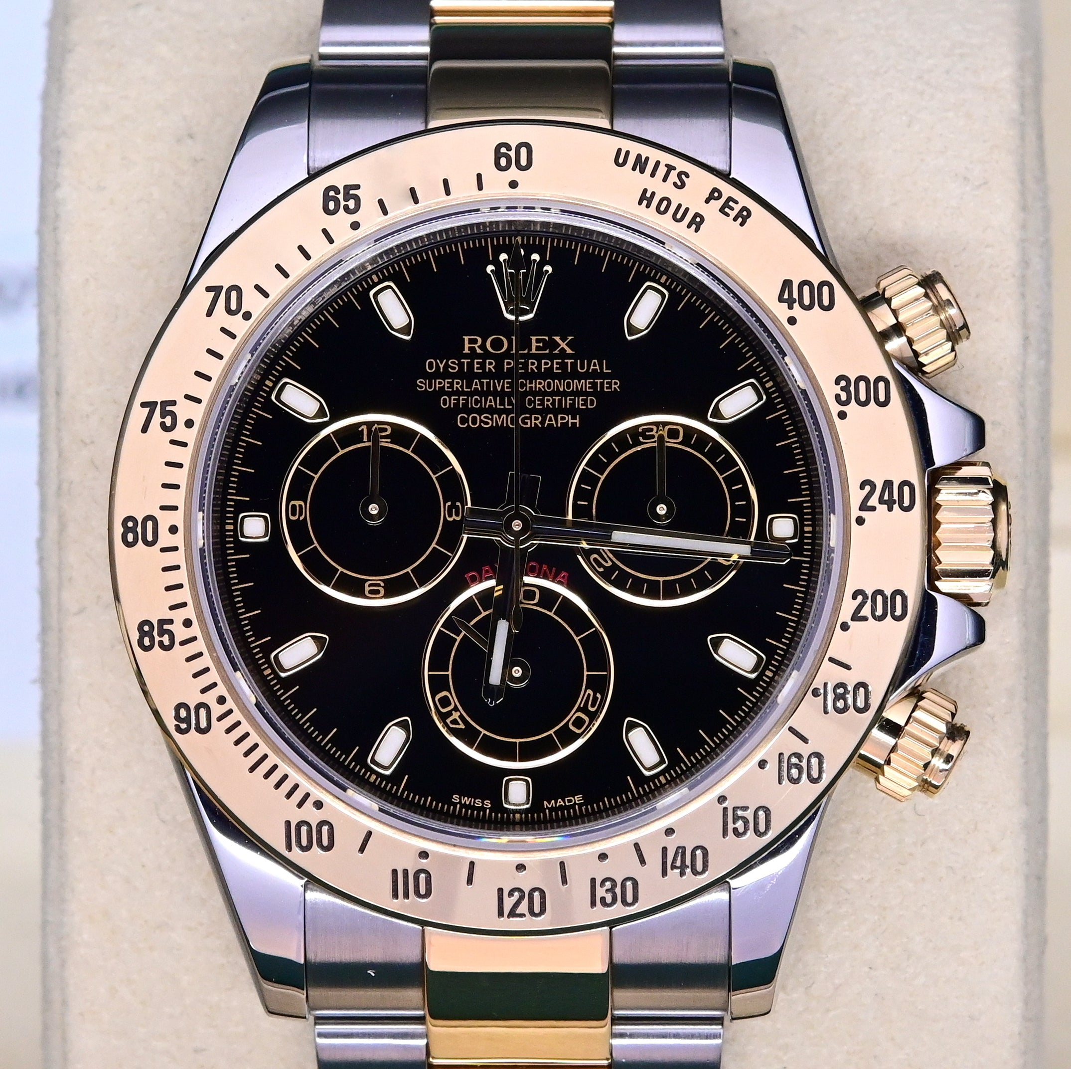 [Pre-Owned Watch] Rolex Cosmograph Daytona 40mm 116523 Black Dial (Out of Production)