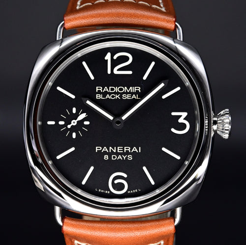 [Brand New Watch] Panerai Radiomir Black Seal 8 Days Acciaio 45mm PAM00609