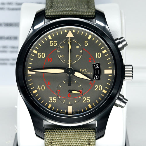 [Pre-Owned Watch] IWC Pilot's Watch Chronograph Top Gun Miramar 46mm IW388002 (Out of Production)