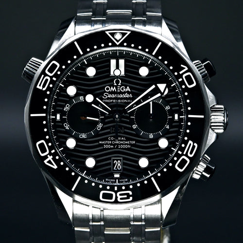 [Brand New Watch] Omega Seamaster Diver 300m Co-Axial Master Chronometer Chronograph 44mm 210.30.44.51.01.001