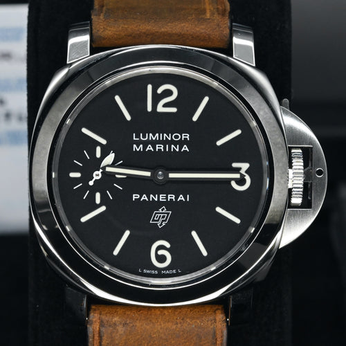 [Pre-Owned Watch] Panerai Luminor Marina Logo Acciaio 44mm PAM00005 (Out of Production)