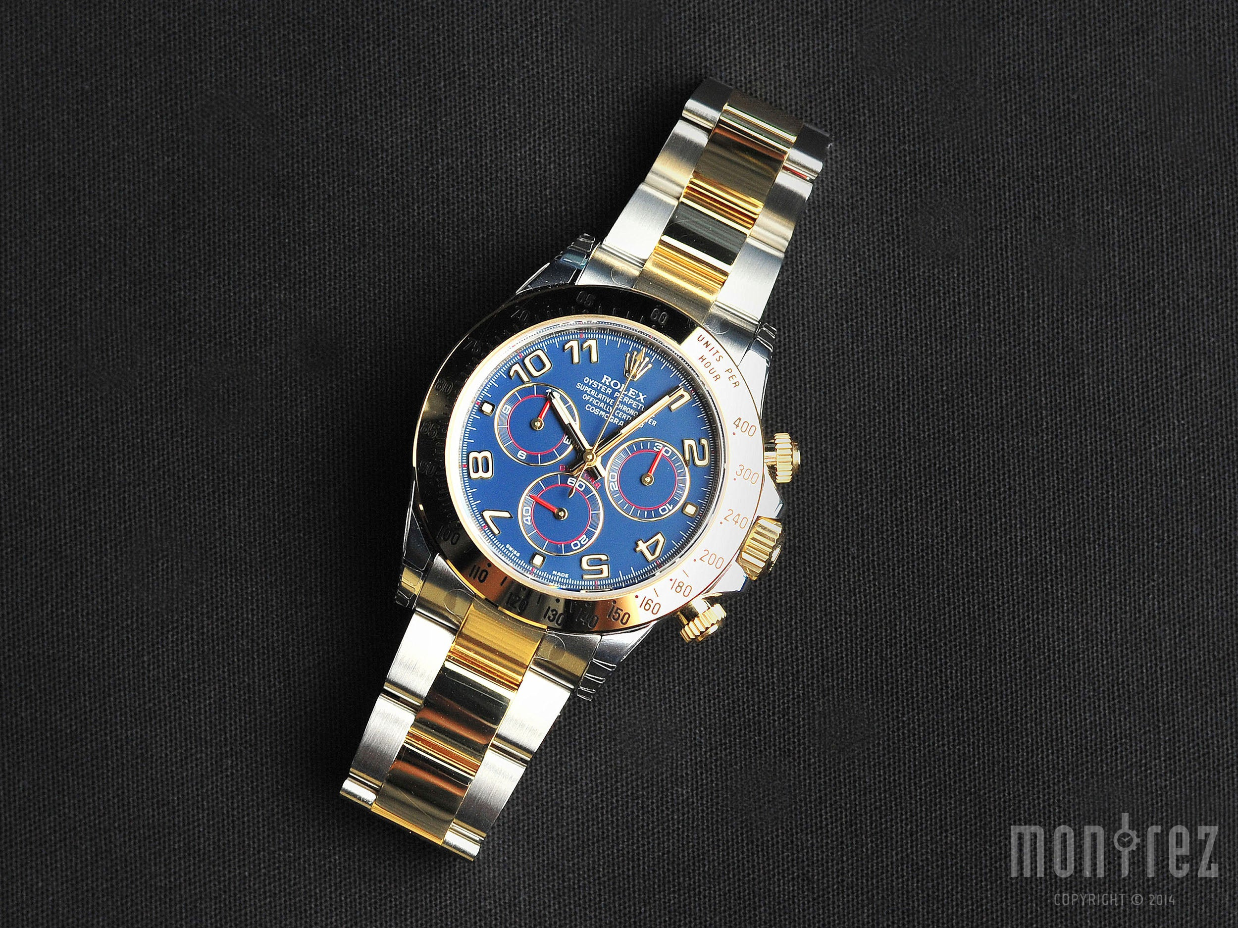 Rolex Cosmograph Daytona 40mm 116523 Blue Dial (Out of Production)