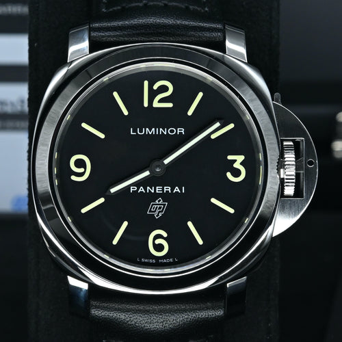 [Pre-Owned Watch] Panerai Luminor Base Logo Acciaio 44mm PAM01000