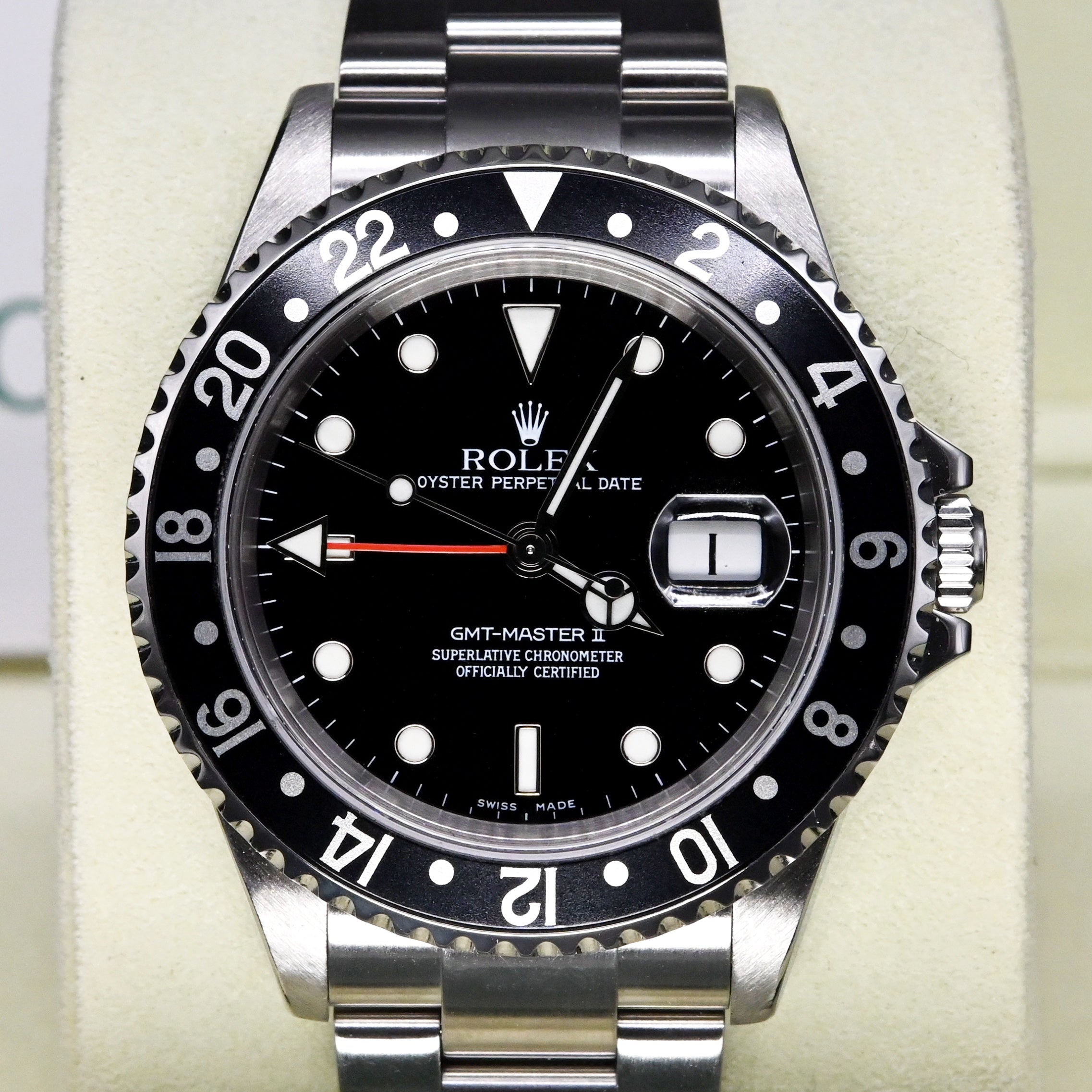 [Pre-Owned Watch] Rolex GMT-Master II 40mm 16710 Black Bezel (Out of Production) (888)