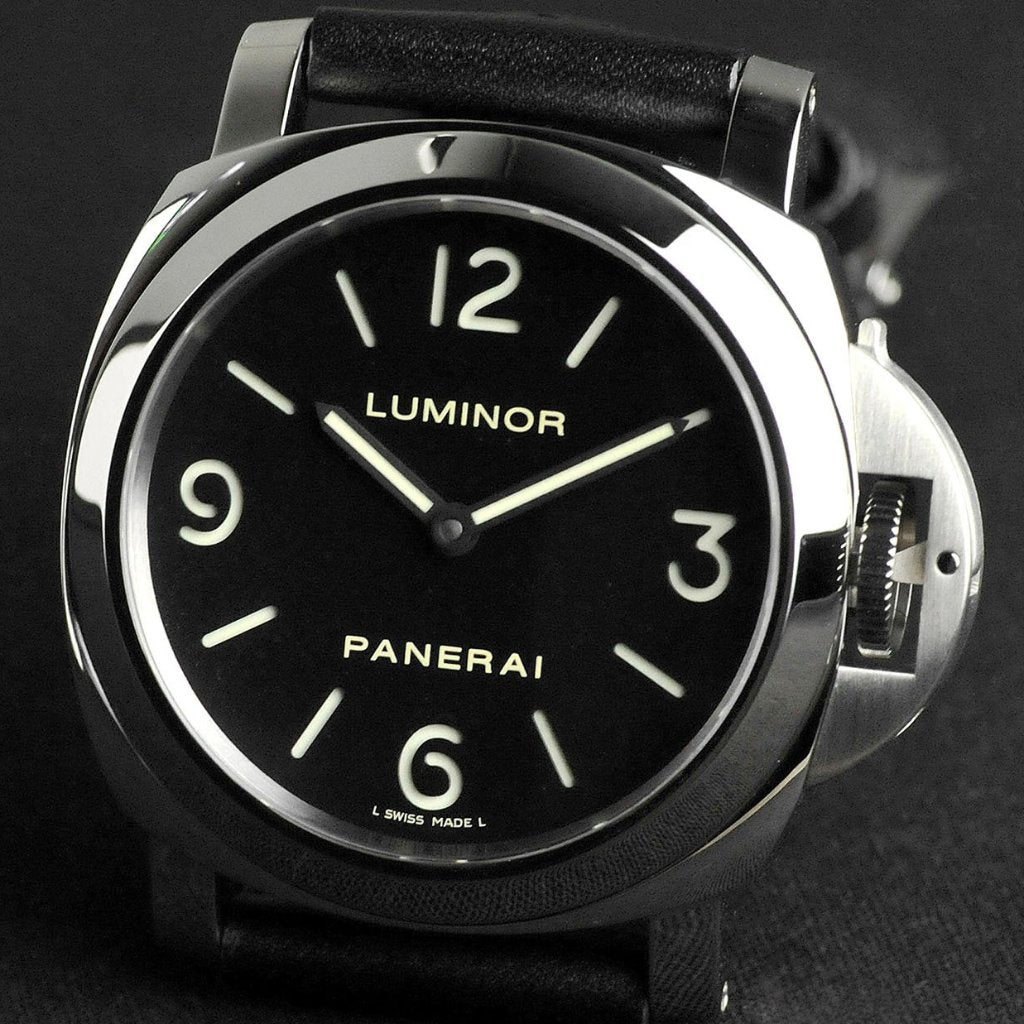 Panerai Luminor Base Acciaio 44mm PAM00112 (Out of Production)