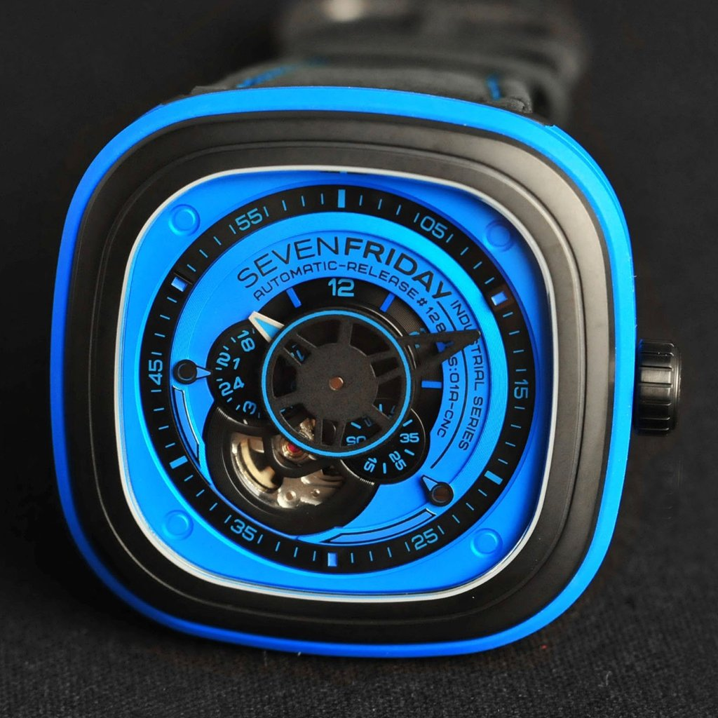 SevenFriday Industrial Essence 47mm P1-4