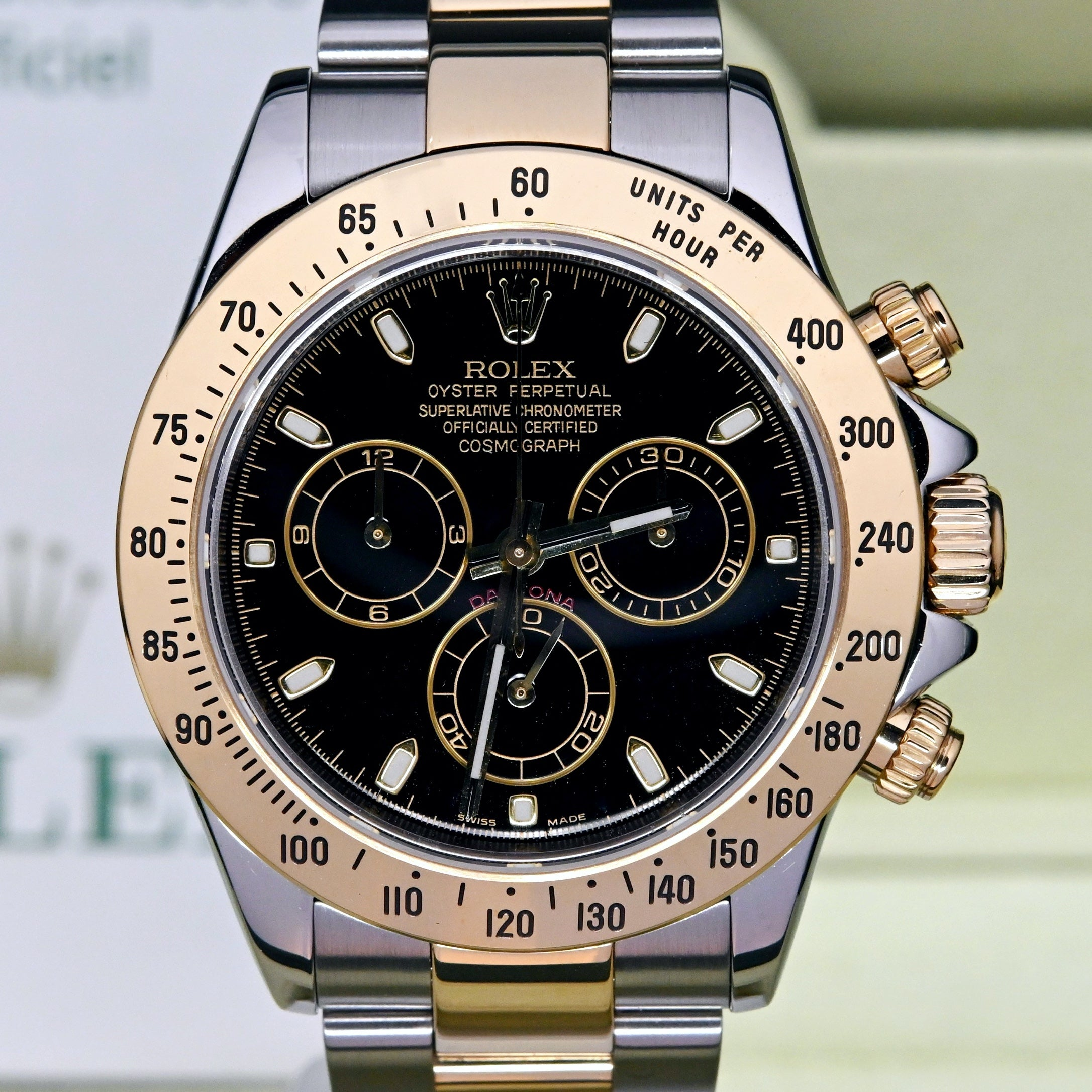 [Pre-Owned Watch] Rolex Cosmograph Daytona 40mm 116523 Black Dial (Out of Production) (888)