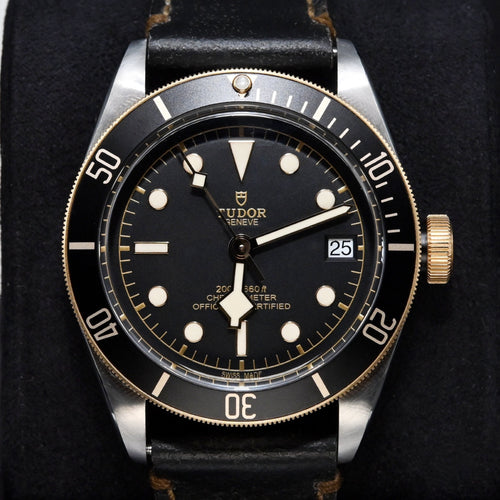 [Pre-Owned Watch] Tudor Heritage Black Bay S&G 41mm 79733N Black Dial (Leather Strap)