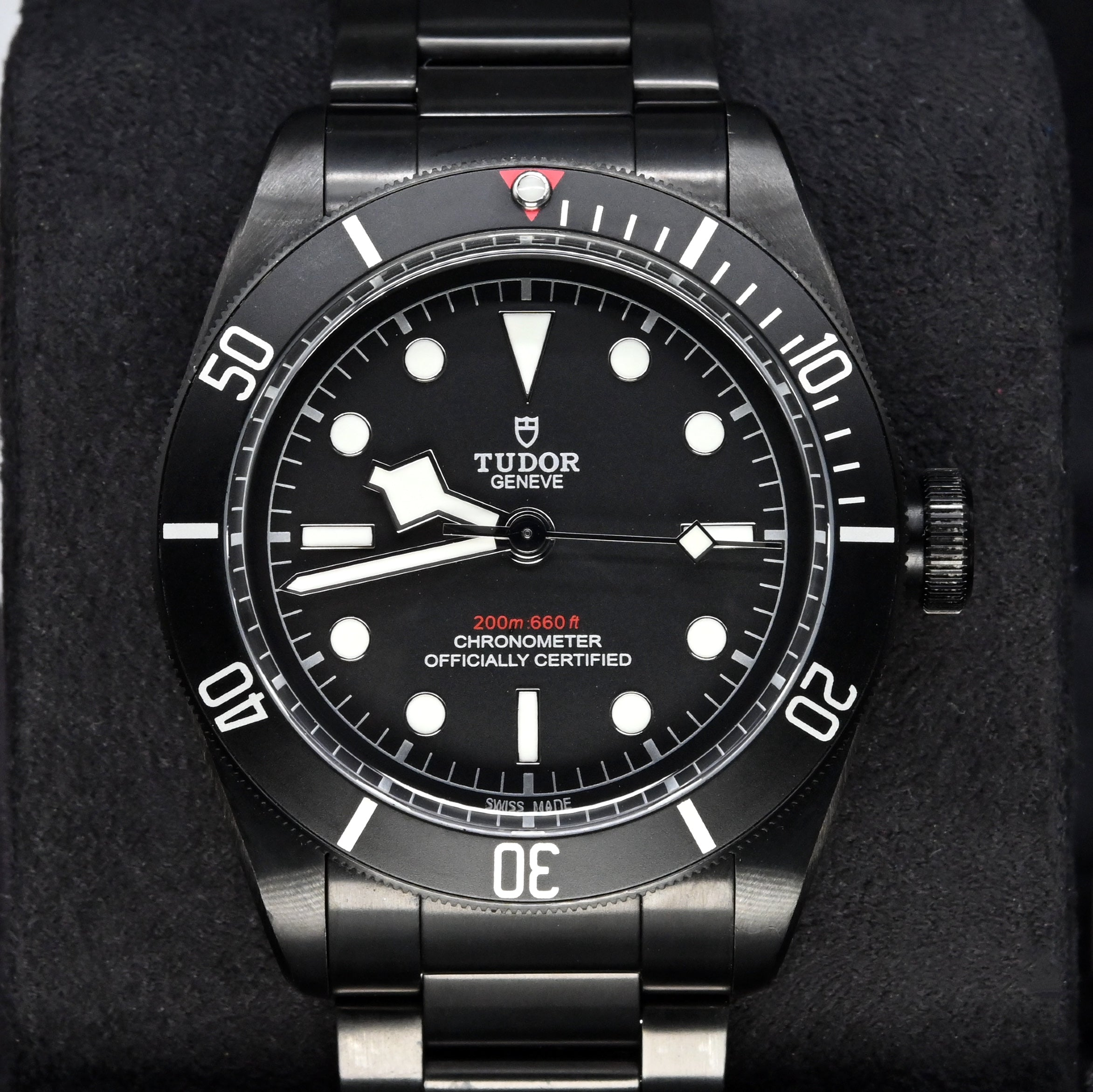 [Pre-Owned Watch] Tudor Heritage Black Bay Dark 41mm 79230DK (Black Steel Bracelet)