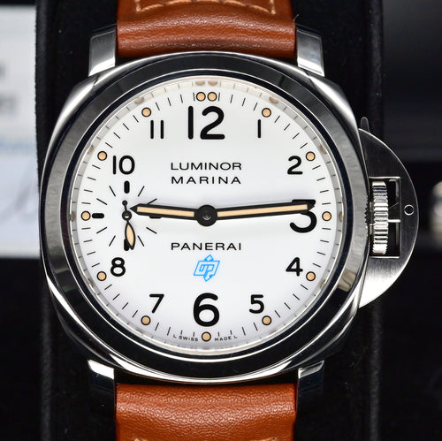 [Pre-Owned Watch] Panerai Luminor Marina Logo Acciaio 44mm PAM00660