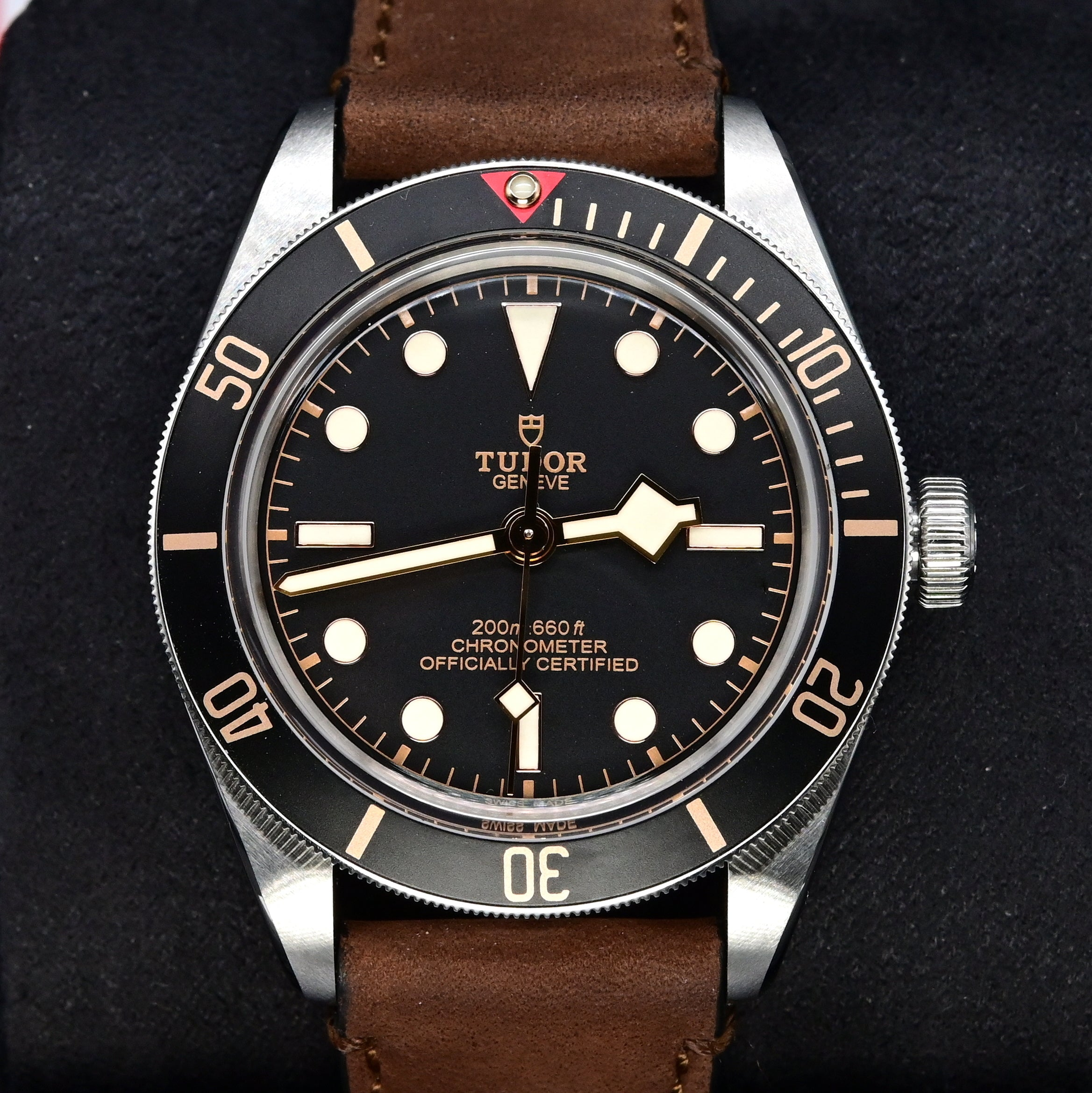 [Pre-Owned Watch] Tudor Black Bay Fifty-Eight 39mm 79030N Leather Strap (888)