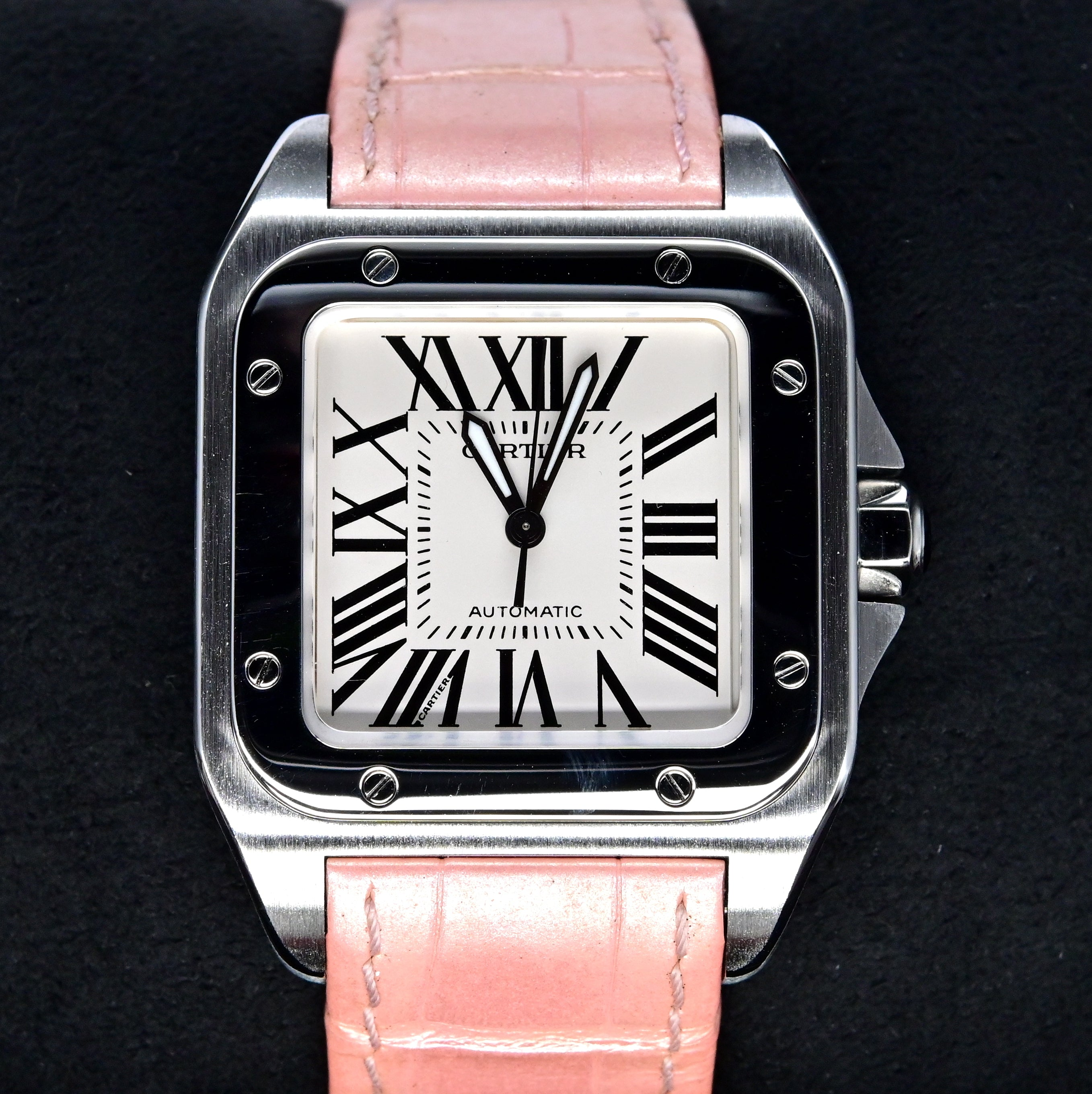 [Pre-Owned Watch] Cartier Santos 100 Watch 36mm W20126X8 (Out of Production)