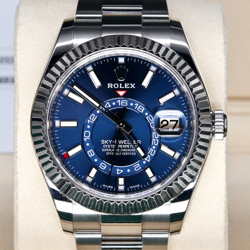 [Pre-Owned Watch] Rolex Sky-Dweller 42mm 326934 Blue Dial (888)