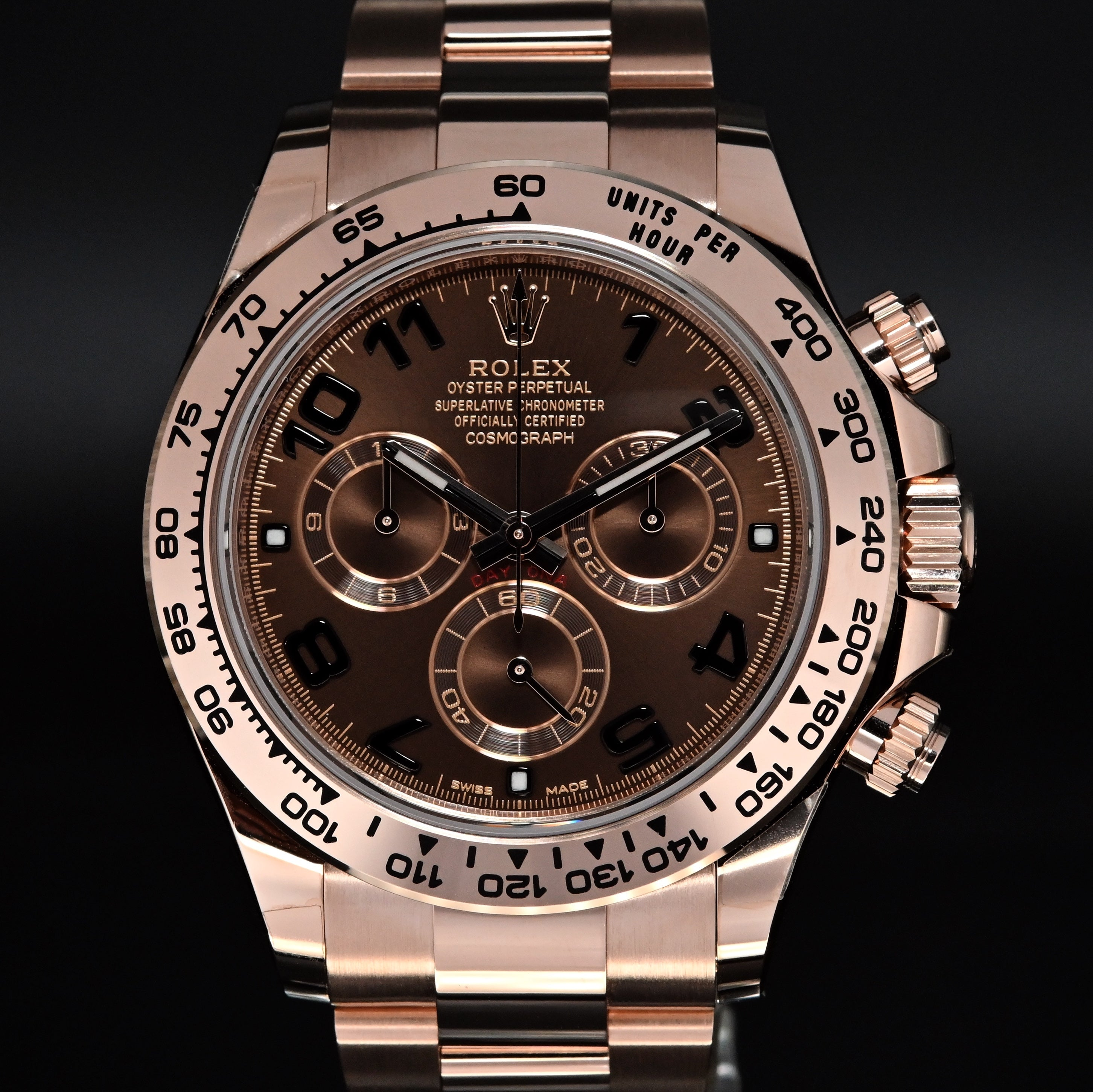 [Brand New Watch] Rolex Cosmograph Daytona 40mm 116505 Chocolate Dial (Out of Production)