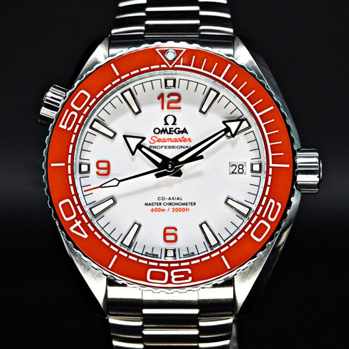 [Brand New Watch] Omega Seamaster Planet Ocean 600m Co-Axial Master Chronometer 43.5mm 215.30.44.21.04.001
