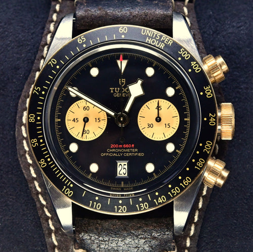[Pre-Owned Watch] Tudor Black Bay Chrono S&G 41mm 79363N (Leather Strap)