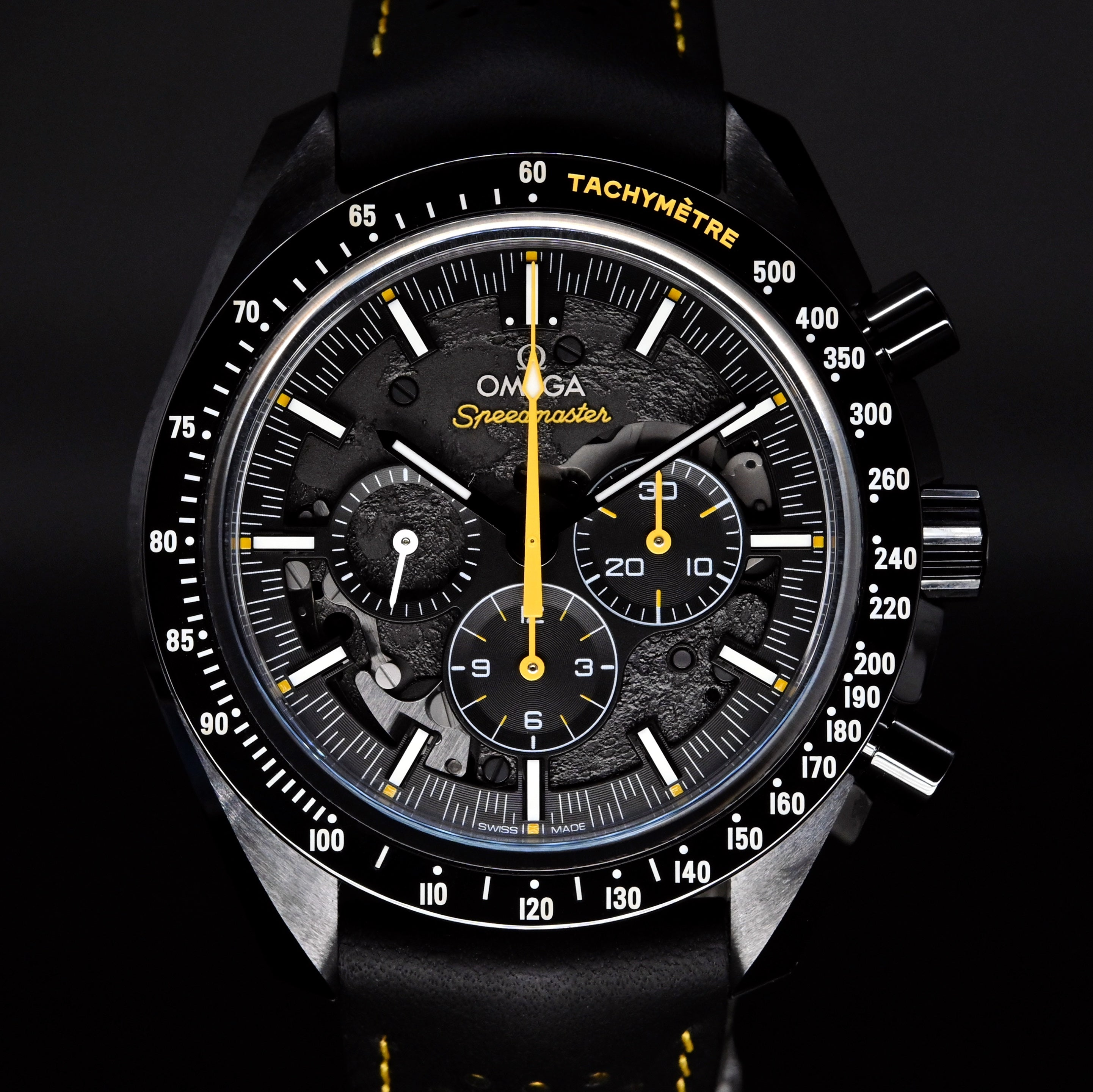 "[Brand New Watch] Omega Speedmaster Moonwatch Chronograph ""Dark Side of the Moon"" Apollo 8 44.25mm 311.92.44.30.01.001"