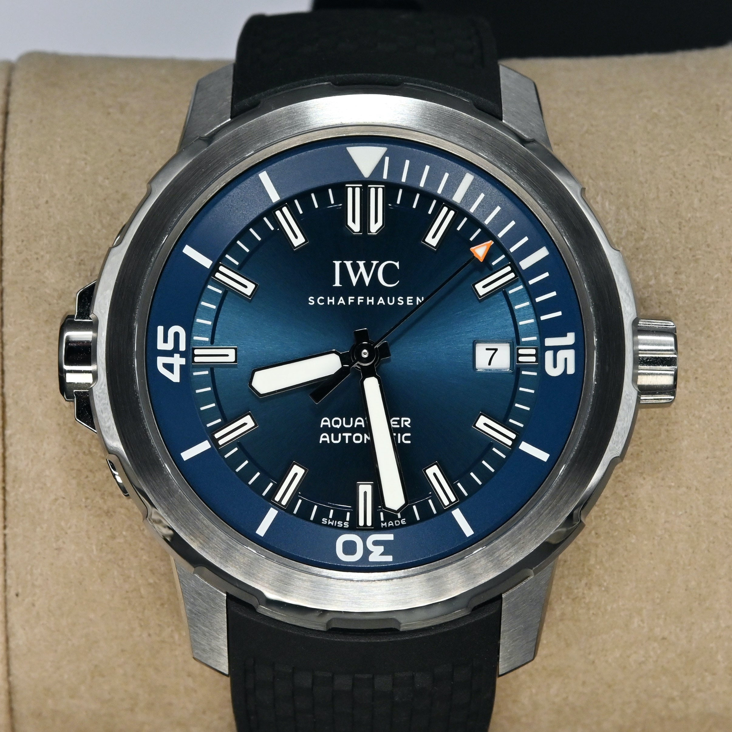 "[Pre-Owned Watch] IWC Aquatimer Automatic Edition ""Eepedition Jacques-Yves Cousteau"" 42mm IW329005"