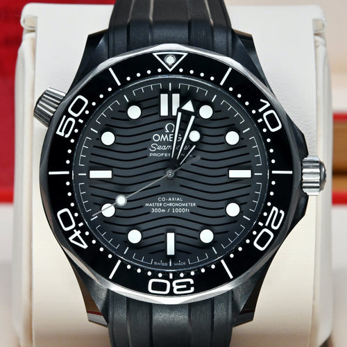 [Pre-Owned Watch] Omega Seamaster Diver 300m Co-Axial Master Chronometer 43.5mm 210.92.44.20.01.001