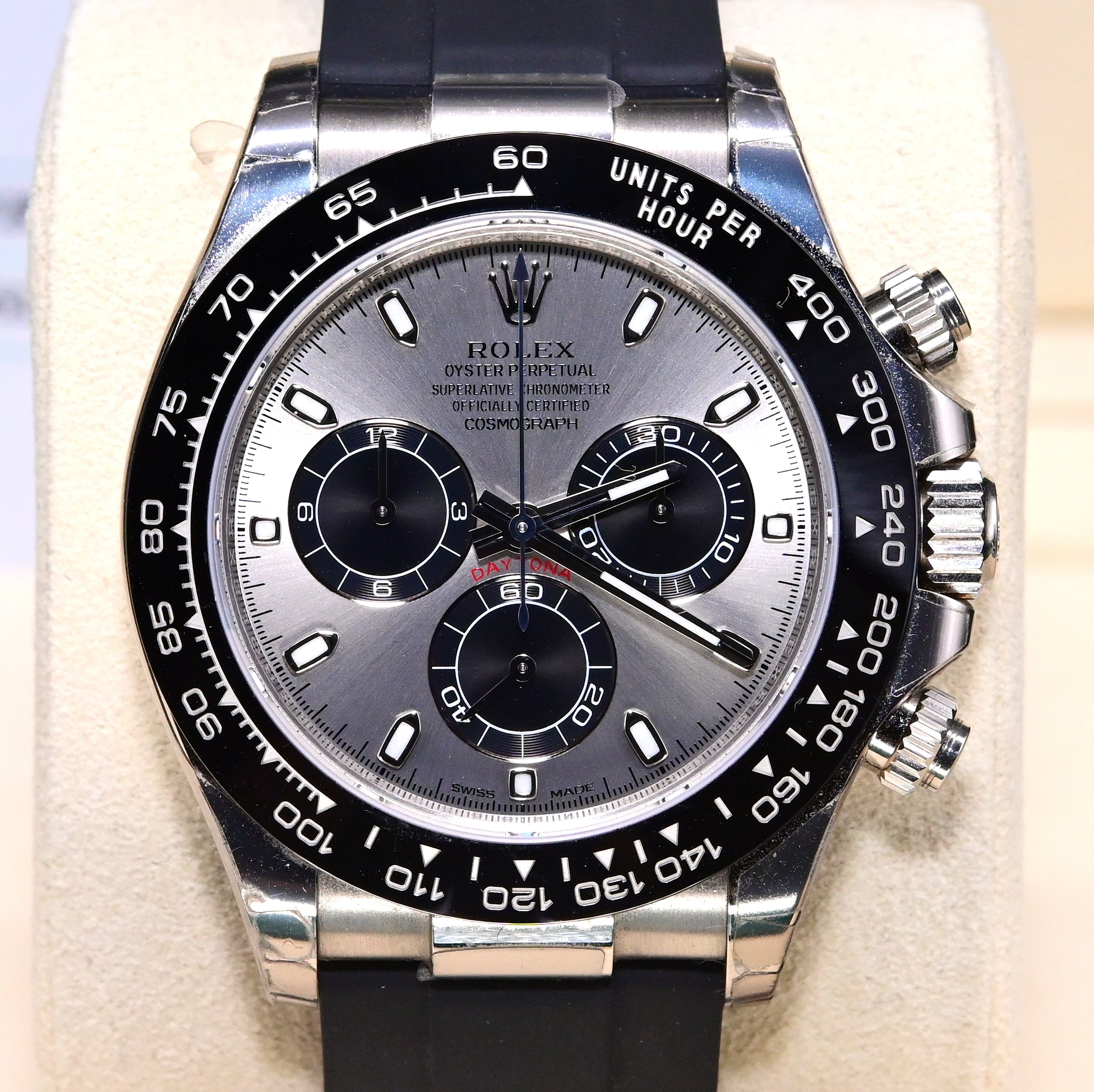 [Pre-Owned Watch] Rolex Cosmograph Daytona 40mm 116519LN Steel Dial
