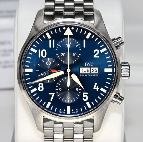 "[Pre-Owned Watch] IWC Pilot's Watch Chronograph Edition ""Le Petit Prince"" 43mm IW377717"