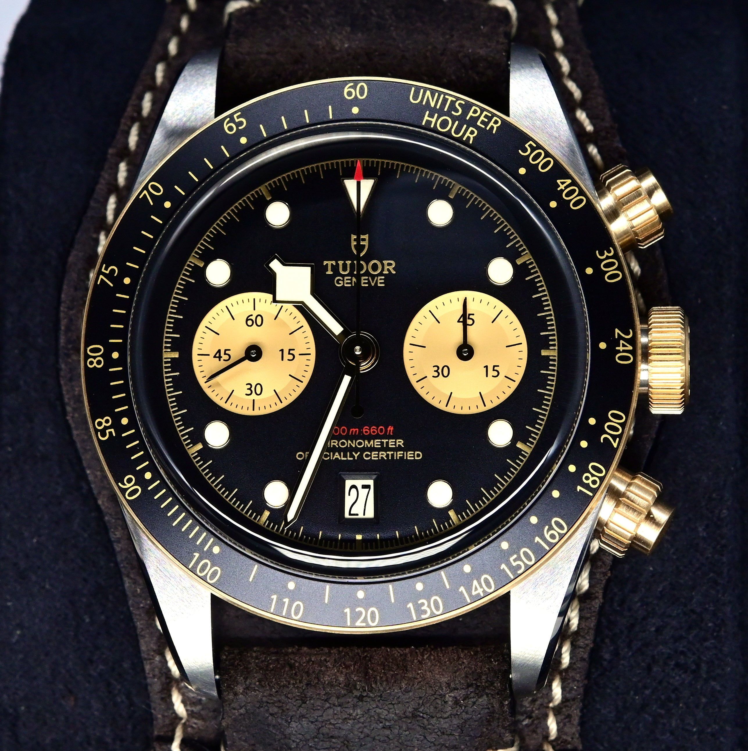 [Pre-Owned Watch] Tudor Black Bay Chrono S&G 41mm 79363N (Leather Strap) (888)