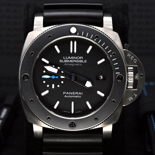 [Pre-Owned Watch] Panerai Luminor Submersible 1950 Amagnetic 3 Days Automatic Titanio 47mm PAM01389