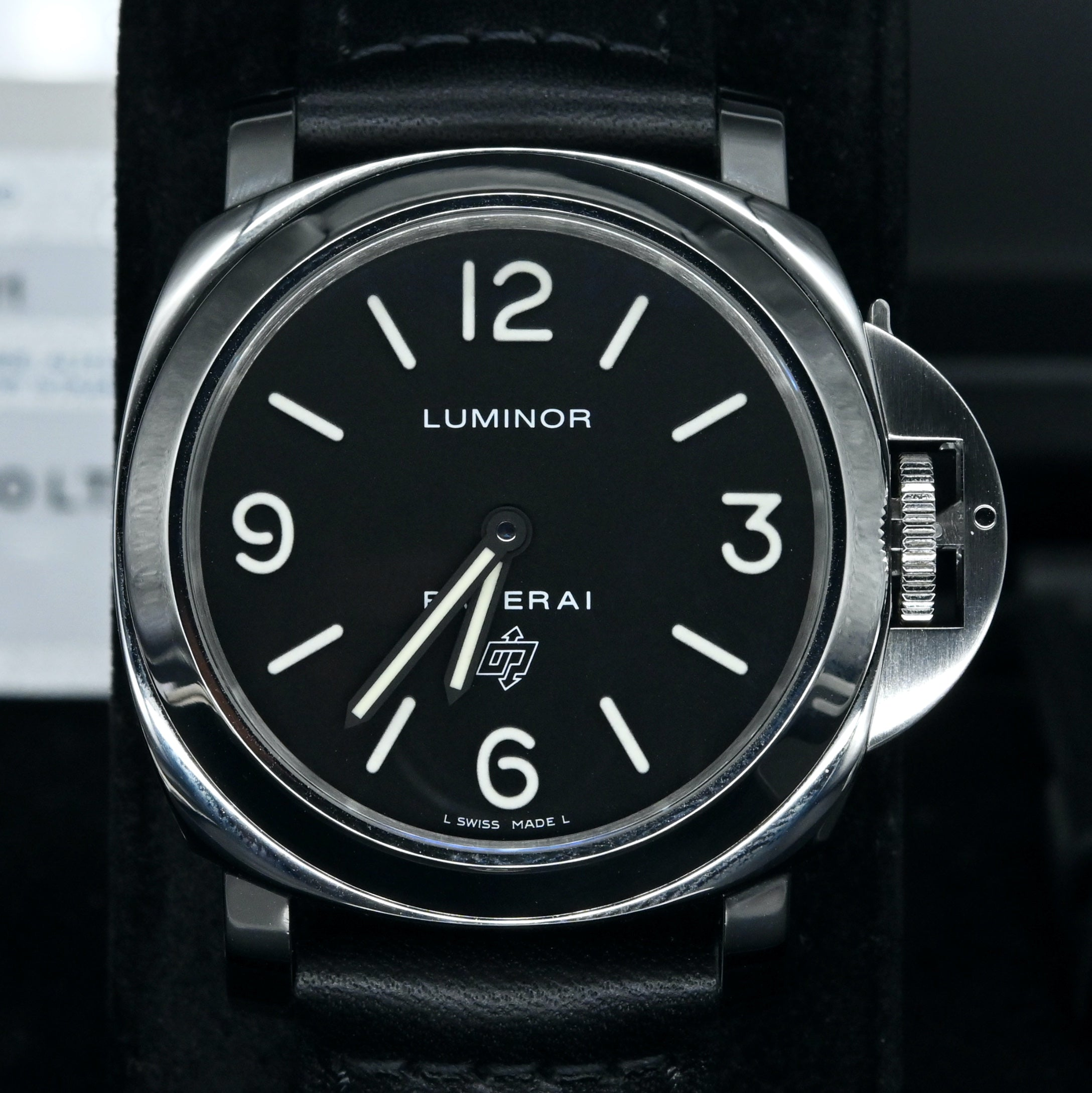 [Pre-Owned Watch] Panerai Luminor Base Logo Acciaio 44mm PAM00000 (Out of Production)