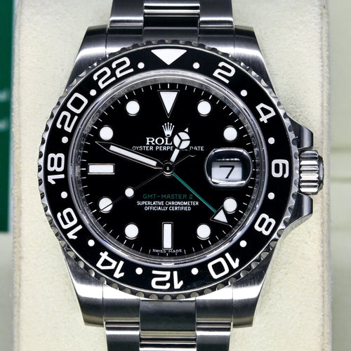 [Pre-Owned Watch] Rolex GMT-Master II 40mm 116710LN (Out of Production)