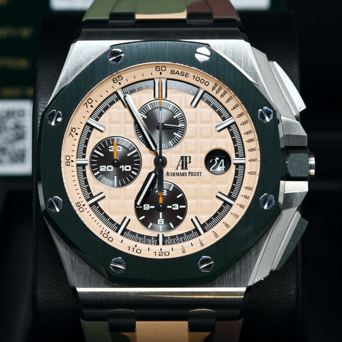 [Pre-Owned Watch] Audemars Piguet Royal Oak Offshore Selfwinding Chronograph 44mm 26400SO.OO.A054CA.01