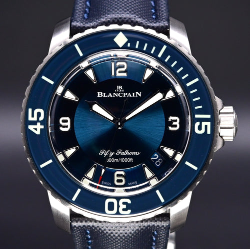 [Brand New Watch] Blancpain Fifty Fathoms Automatique 45mm 5015-12B40-O52A