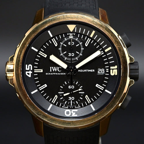 "[Brand New Watch]  IWC Aquatimer Chronograph 44mm IW379503 (Special Edition ""Expedition Charles Darwin"")"