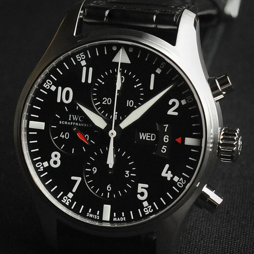 IWC Pilot's Watch Chronograph 43mm IW377701 (Out of Production)