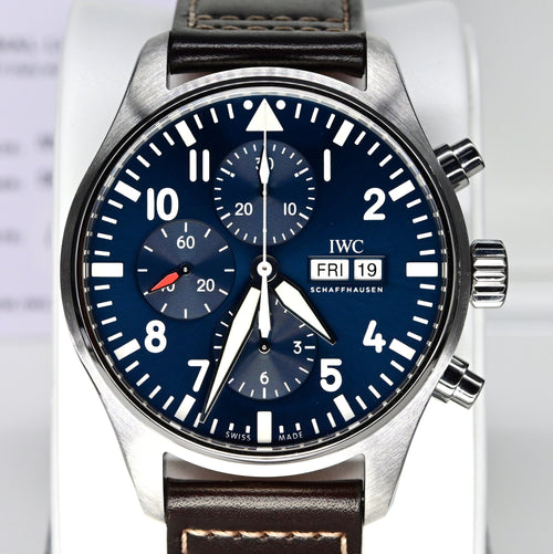 "[Pre-Owned Watch] IWC Pilot's Watch Chronograph Edition ""Le Petit Prince"" 43mm IW377714"