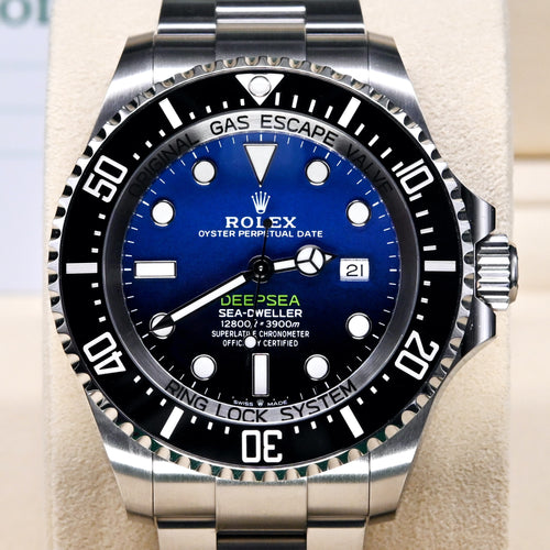 [Pre-Owned Watch] Rolex Deepsea 44mm 126660 D-Blue Dial (888)