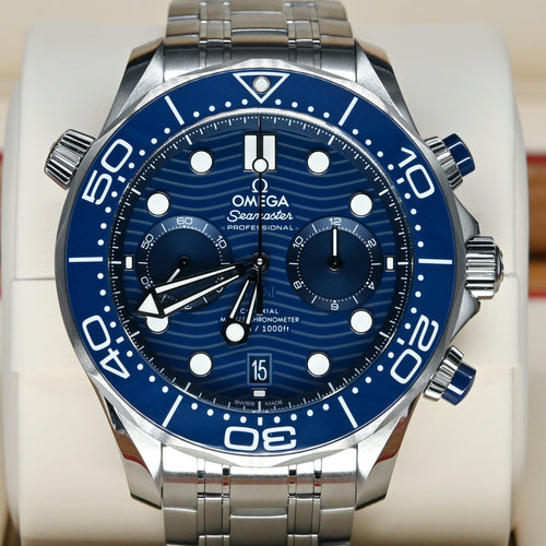 [Pre-Owned Watch] Omega Seamaster Diver 300m Co-Axial Master Chronometer Chronograph 44mm 210.30.44.51.03.001
