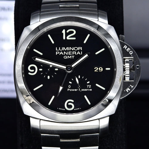 [Pre-Owned Watch] Panerai Luminor Marina 1950 3 Days GMT Power Reserve Automatic 44mm PAM00347 (Out of Production)
