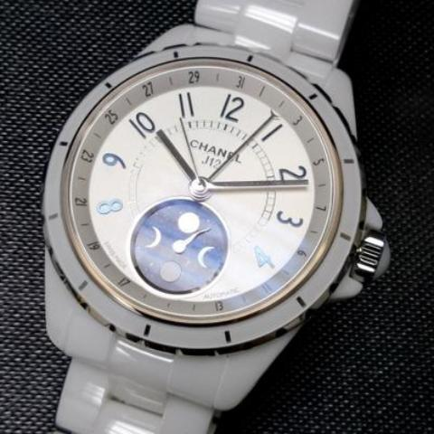 Copy of Chanel J12 Moonphase Black 38mm H3404