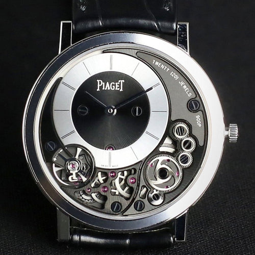Piaget Altiplano Watch White Gold 38mm G0A39111