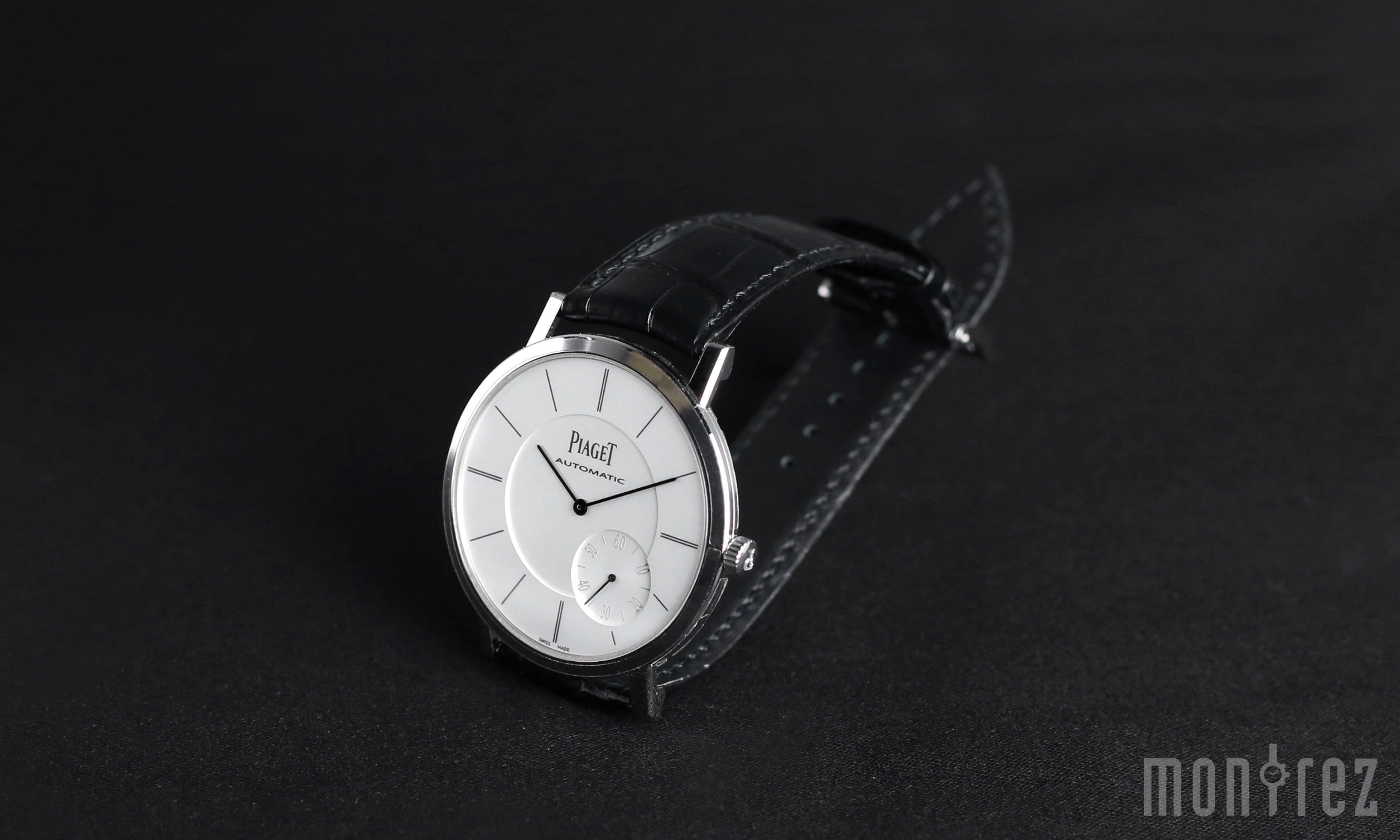 Piaget Altiplano Watch White Gold 43mm G0A35130