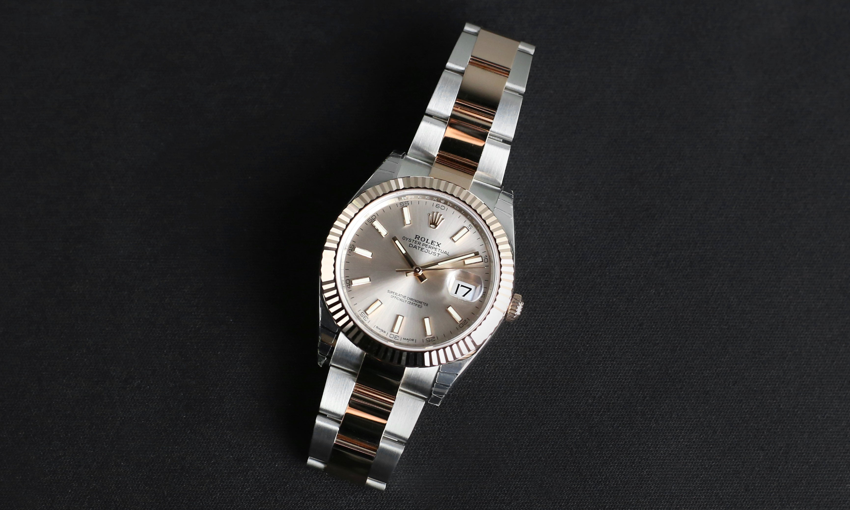 Rolex Datejust 41mm 126331 Sundust Index Dial (Oyster Bracelet)