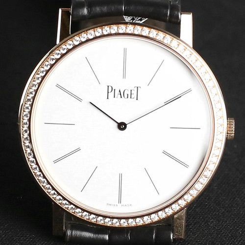 Piaget Ultra-Thin Altiplano Watch Rosegold 34mm G0A39107