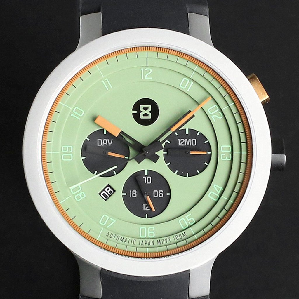MINUS-8 Layer 24 45mm Silver Olive