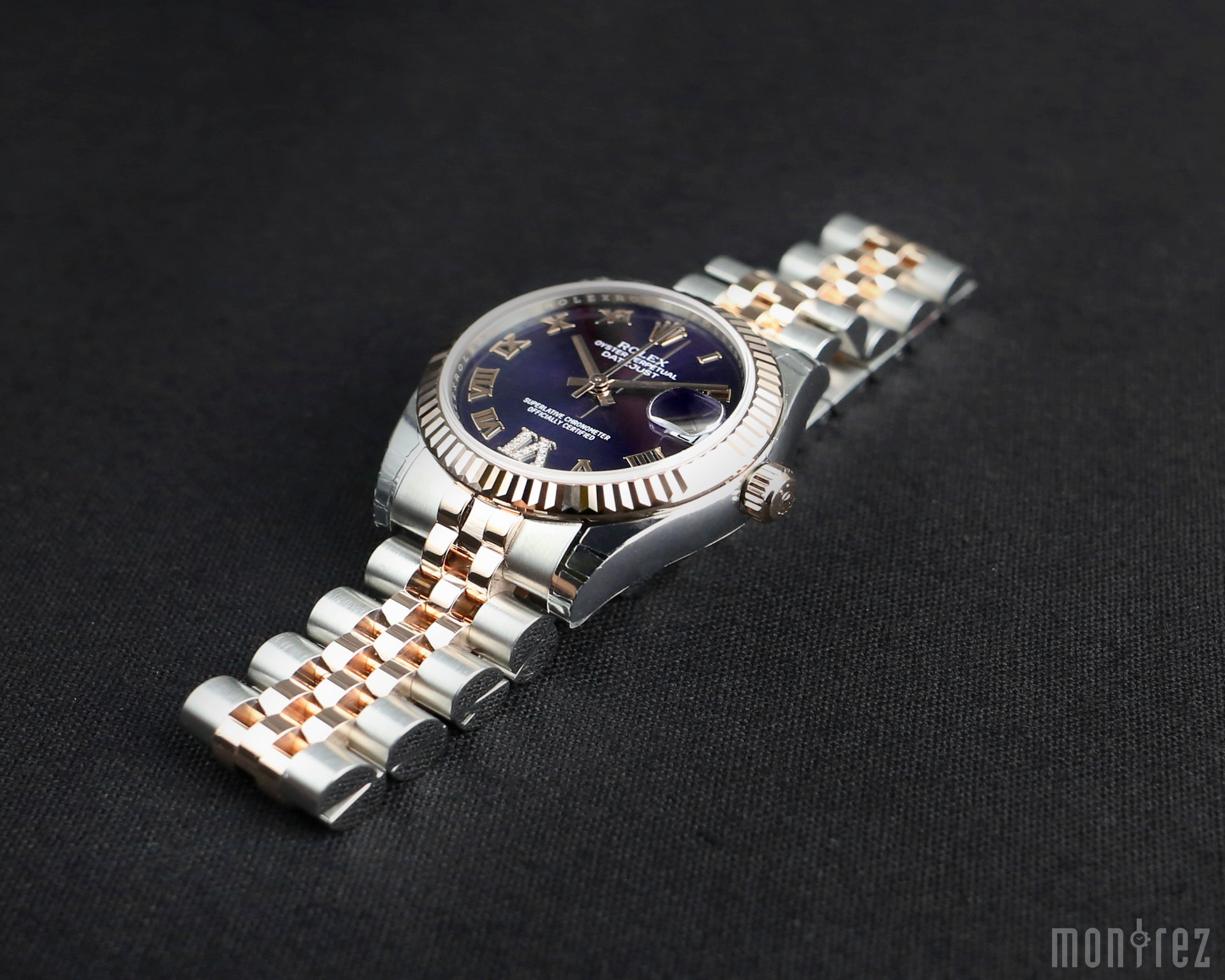 Rolex Datejust 31mm 178271 Purple Dial with VI Diamonds (Jubilee Bracelet)